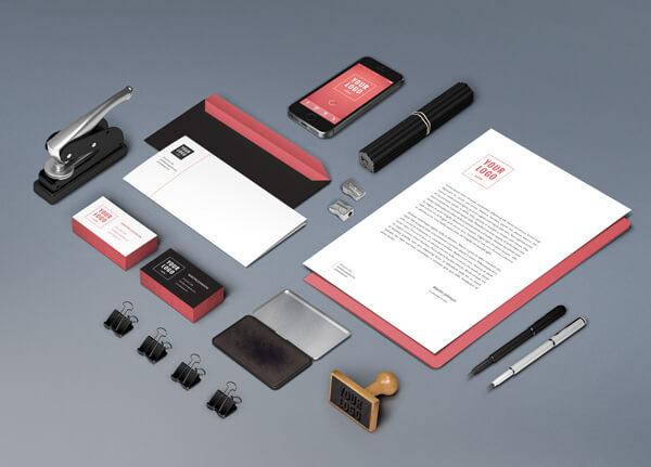 Branding : Identity MockUp Vol.6