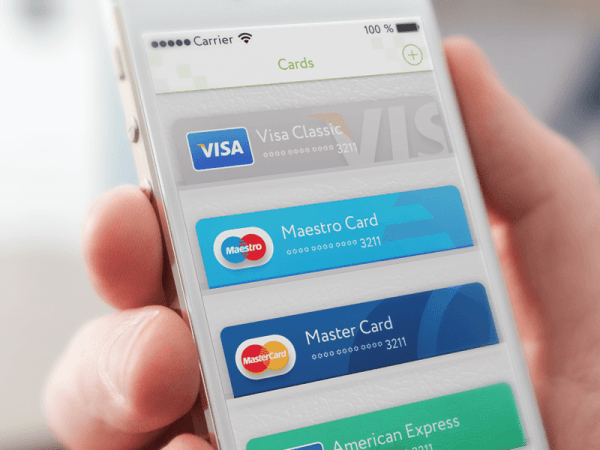 Credit cards on wallet by Gleb Kuznetsov
