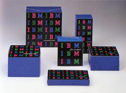 IBM Packaging by Paul Rand
