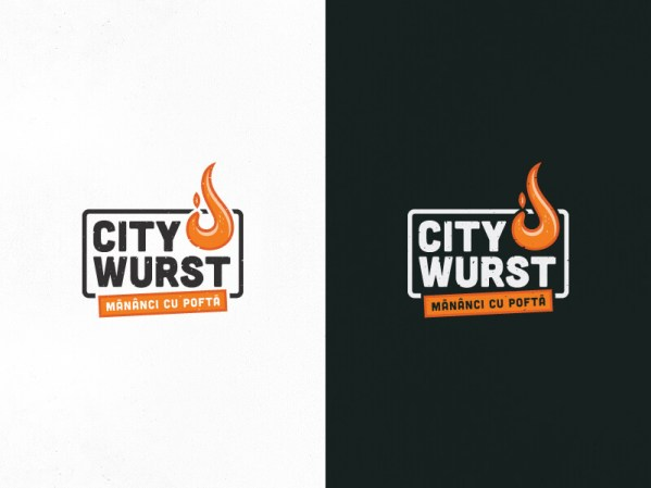 City Wurst Identity by Nicu Balan