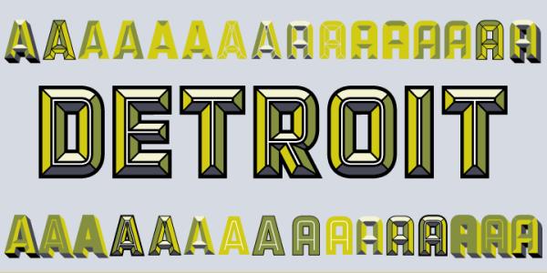 Detroit by Match & Kerosene