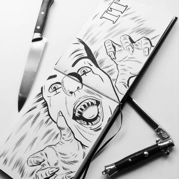 Summer Sketch by Nache Ramos