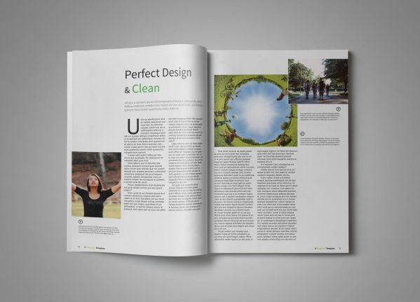A5 Clean Multipurpose Magazine