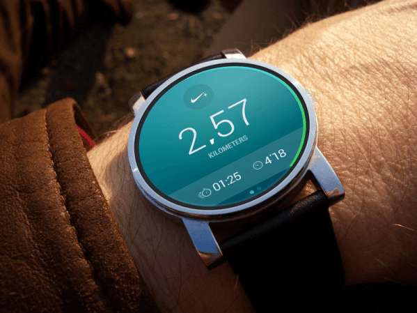 Android Wear Nike Running by Riste Lazoroski