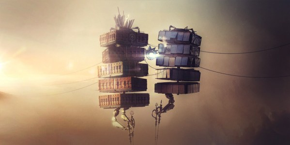Dead cities by Maxim Goudin