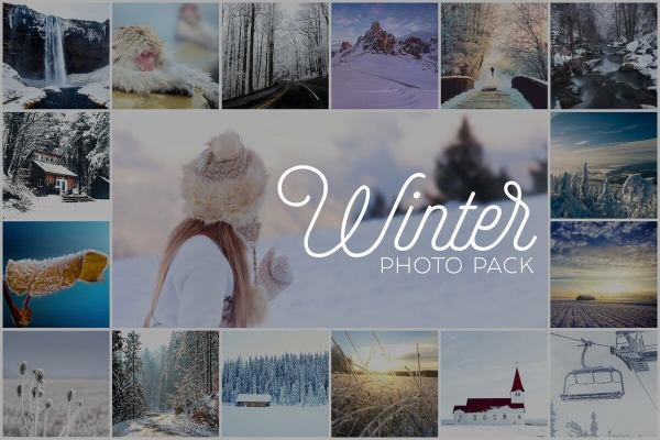 Winter Photo Pack Inspirationfeed Preview