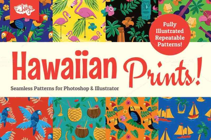 Hawaiian Prints and Patterns