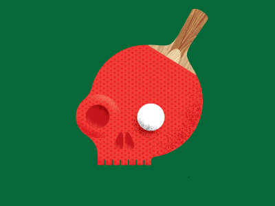 Pong Skull by Well