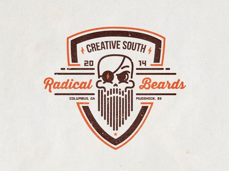 Radical Beards Club Badge by Frank Rodriguez (1)