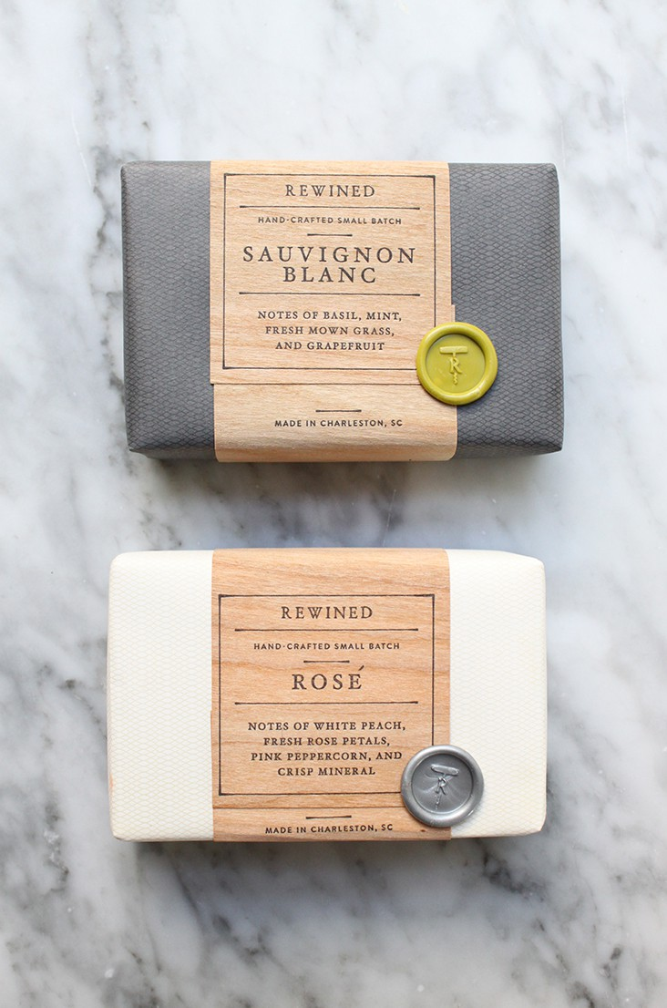 Rewined Soap by Stitch Design Co