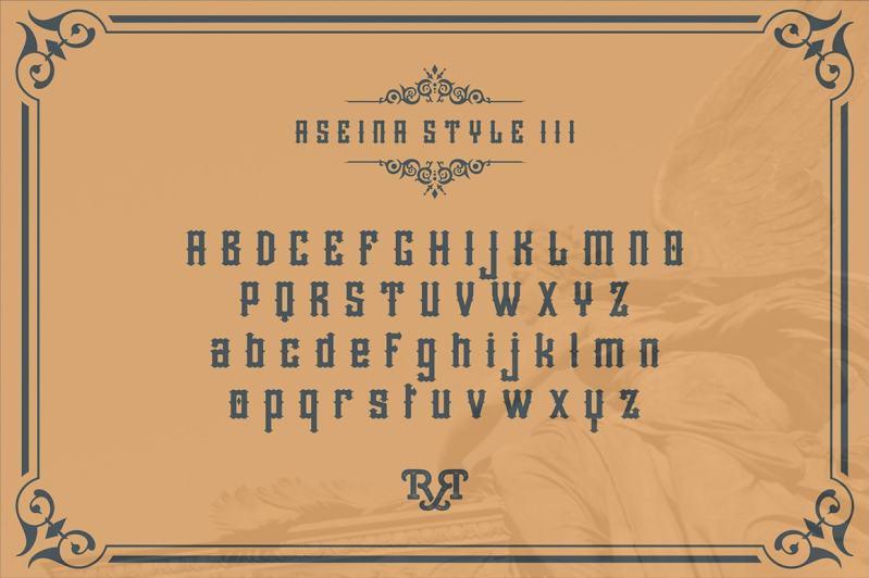 Aseina Typeface-min