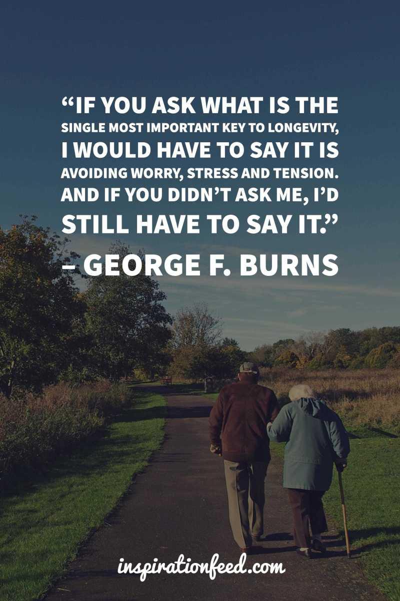 key-to-longevity-by-george-burns