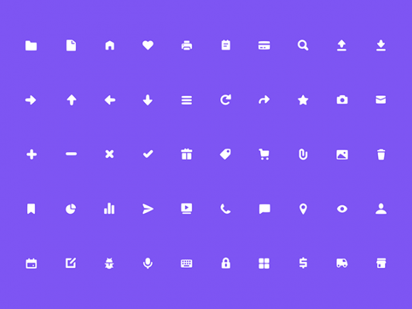 free solid icons for sketch app