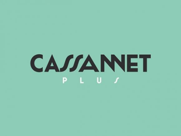 Cassannet Plus Regular A free font for vintage typography