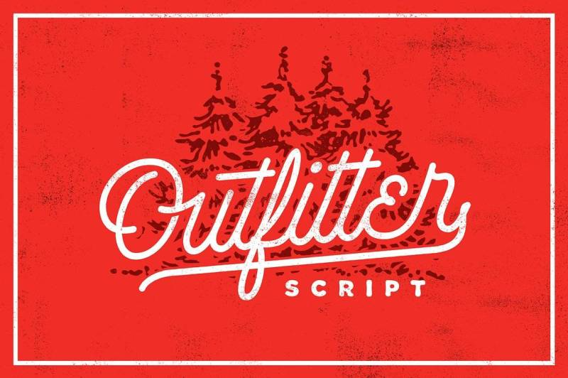 Outfitter Script - Script Like Save Outfitter Script - Script - 1 Outfitter Script - Script - 2 Outfitter Script - Script - 3 Outfitter Script - Script - 4 Outfitter Script - Script - 5 Outfitter Script is a super sleek hand drawn mono line font with Elegant, dynamic and vintage look.