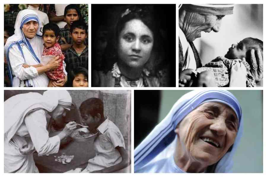 Mother Teresa Photo Collage