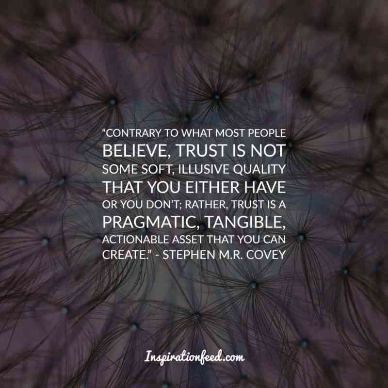 Quotes about Trust