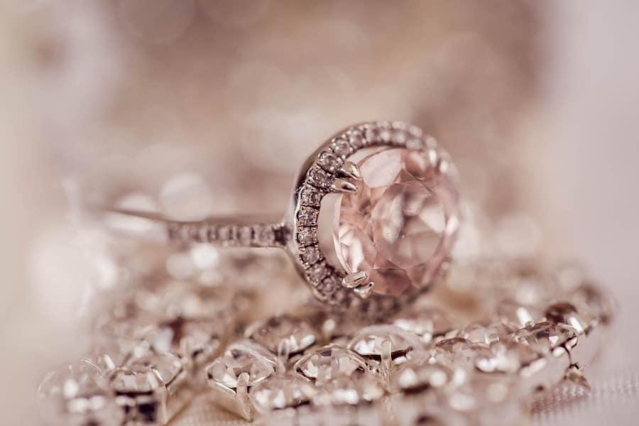 Clear Diamond Ring