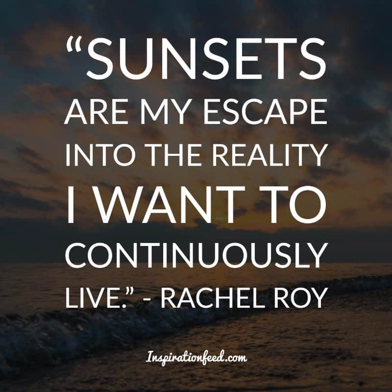 Delightful Sunset Quotes