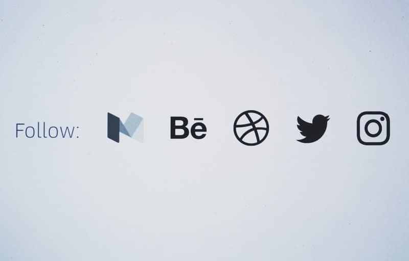 Social media follower count