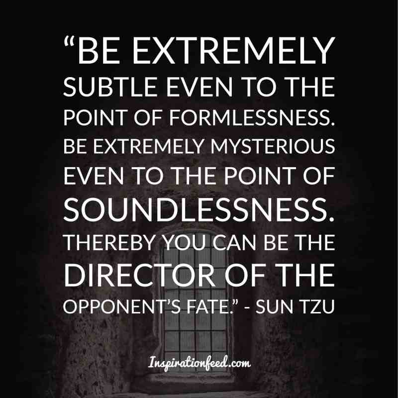 30 Powerful Sun Tzu Quotes About The Art Of War Inspirationfeed