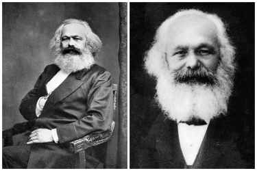Karl Marx Collage