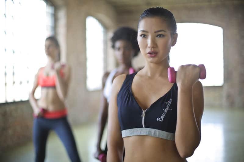woman-wearing-black-and-gray-sport-bra