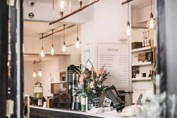 Modern restaurant Interior