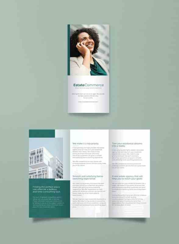 Corporate Real Estate Brochure Template