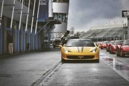 Yellow Coupe Ferrari