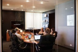 Office Meeting About Content Strategy
