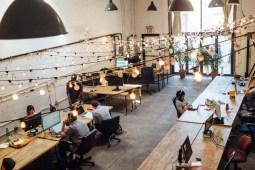Modern Startup Workspace