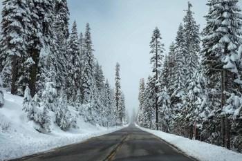 Winter Road Drive