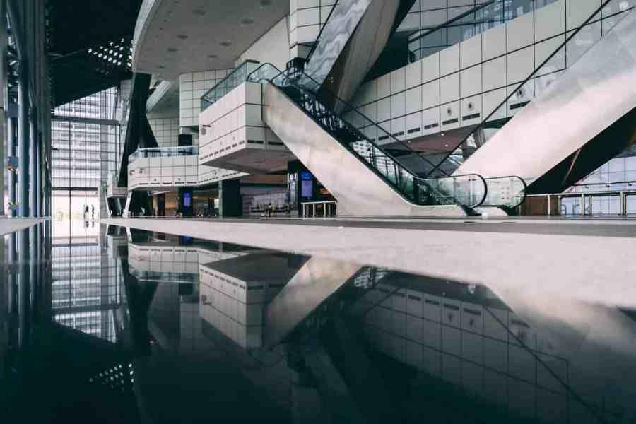 Modern Exhibition Building