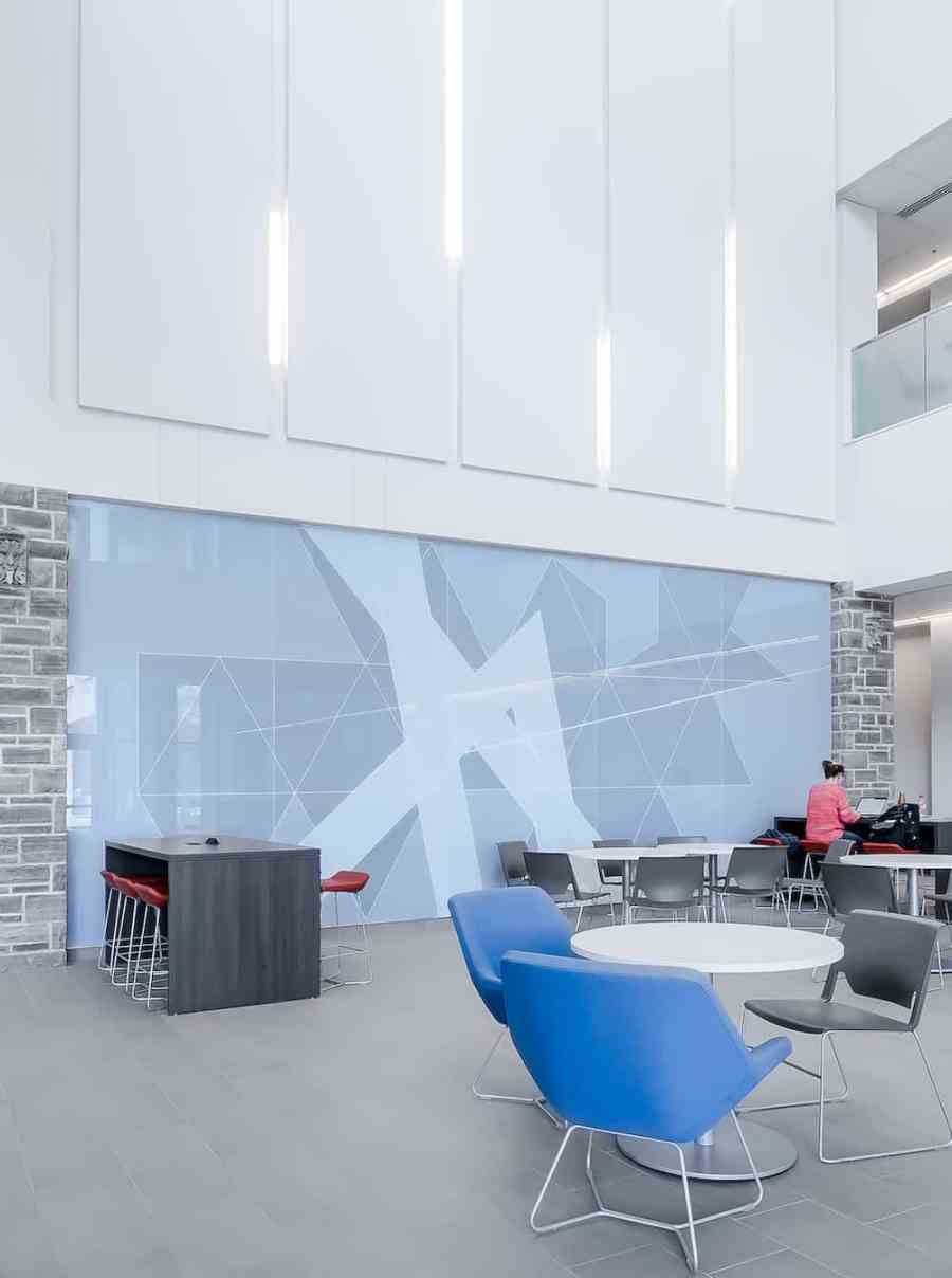 Light and airy co-working space