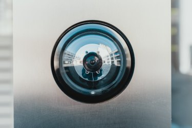 Fish Eye Security Camera