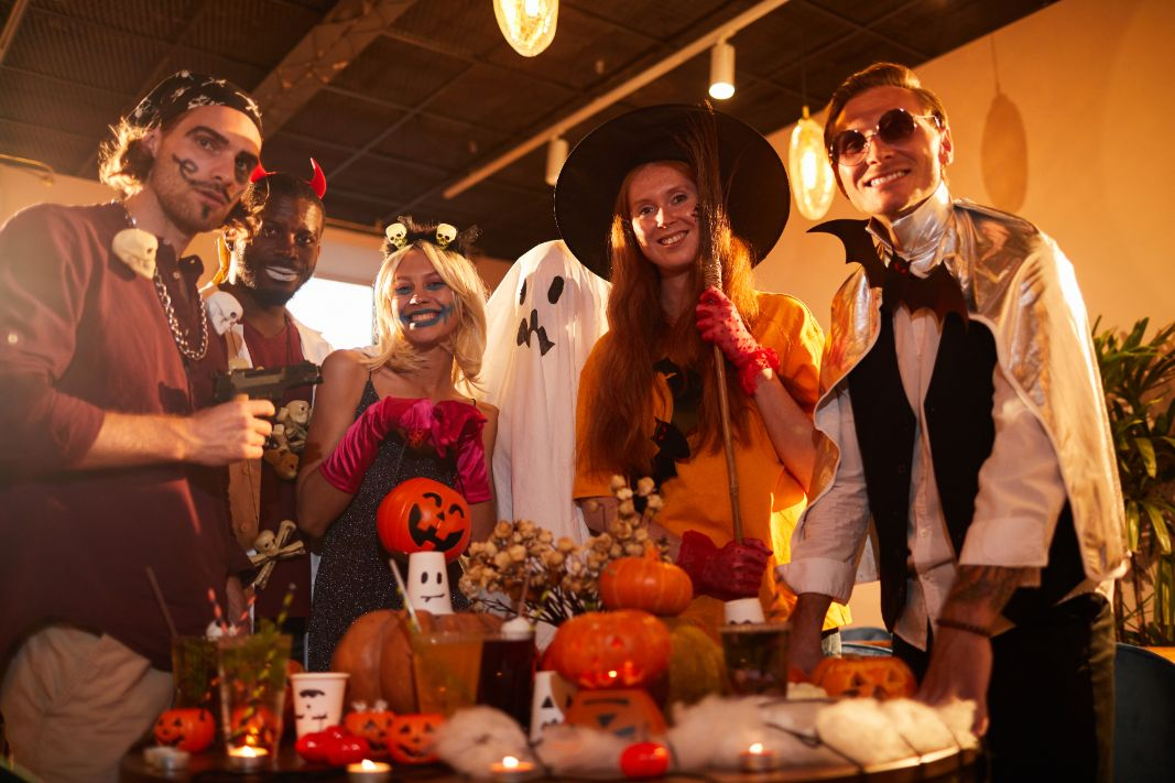 The spruce / margot cavin. How To Throw A Perfectly Scary Halloween House Party Inspirationfeed