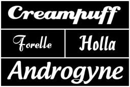 Bold Script Fonts