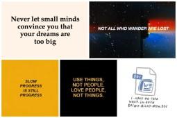 Inspiring Aesthetic Quotes