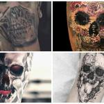 65 Incredible Skull Tattoos To Make Your Skin A Living Canvas Inspirationfeed