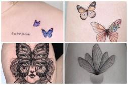 Stunning Butterfly Tattoos
