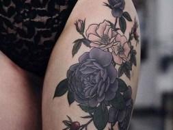 Creative Thigh Tattoo Ideas