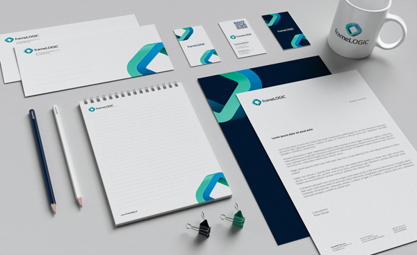 60 Professional Examples of Stationery Design  Inspirationfeed
