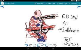 Jenny drawing of Ed