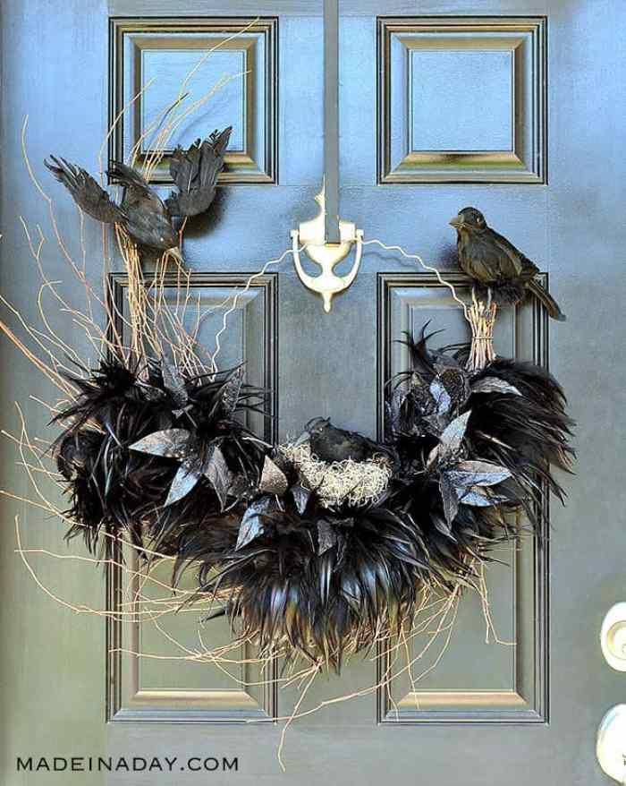 Ravens Nest Wreath