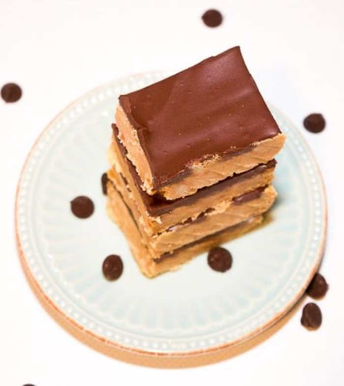 Chocolate Peanut Butter Bars