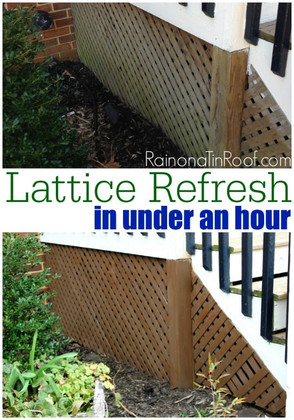 lattice refresh in under an hour