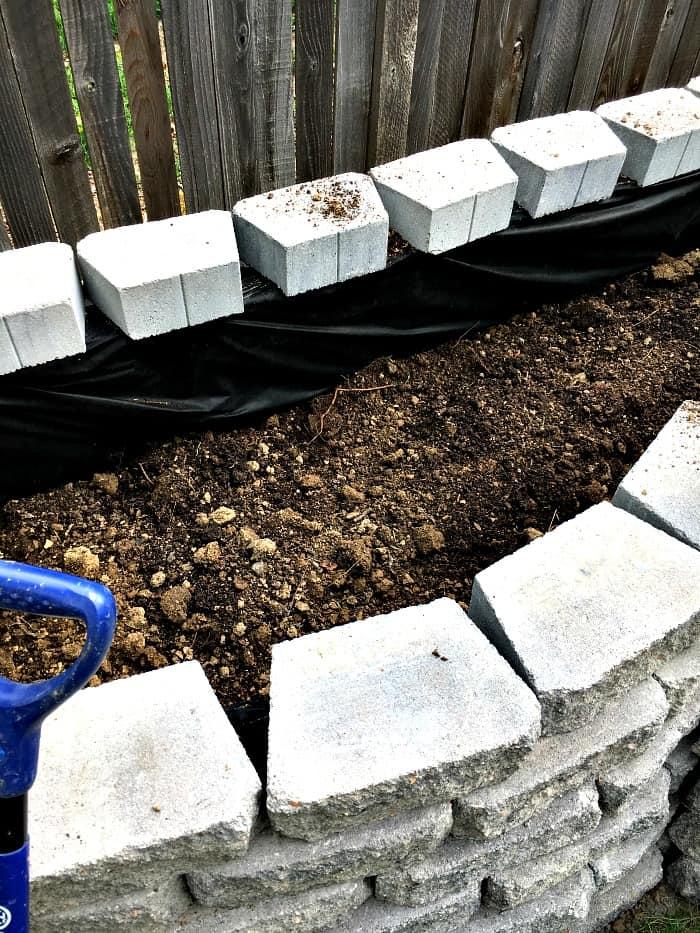 How Build Raised Garden Pavers