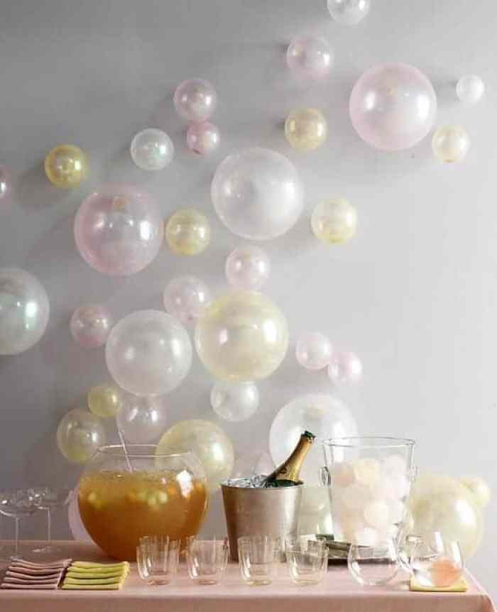 Last Minute New Year's Eve Party Decor