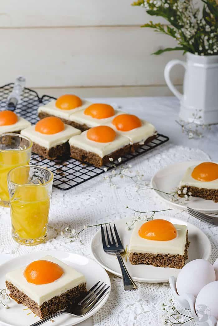 German Sunny-Side Up Cake